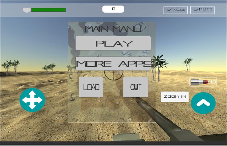 android Desert War Screenshot 0