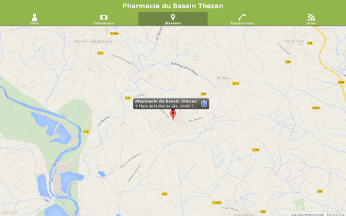 Pharmacie du Bassin Thézan- screenshot thumbnail