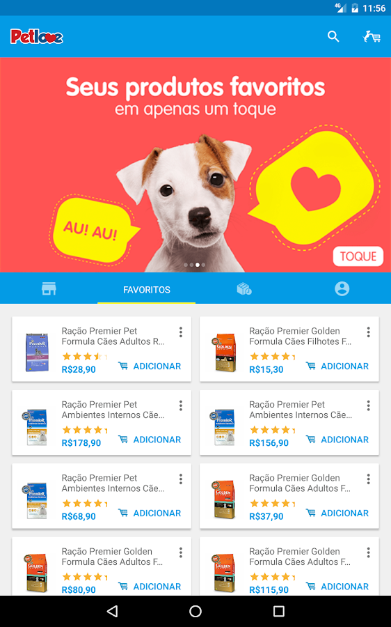Pet Shop Online - Petlove- screenshot