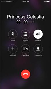 Call from Princess Celestia - náhled