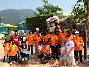 Photo: Hong Kong - Refugee Children's Day Out at Ocean Park, with EY and Christian Action.