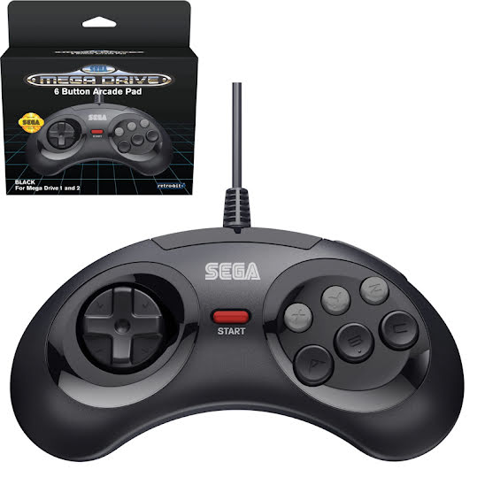 Retro-Bit SEGA Mega Drive 6-button