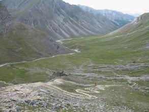 Photo: Вид с перевала Хубыты на долину Баром-Гола