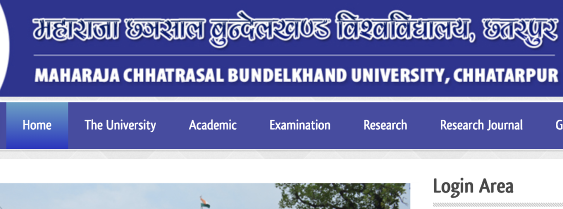 Maharaja Chhatrasal Bundelkhand University Chhatarpur
