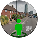 3D Street Panorama View Icon