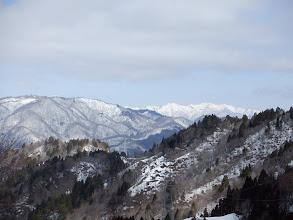 左奥に大日ヶ岳
