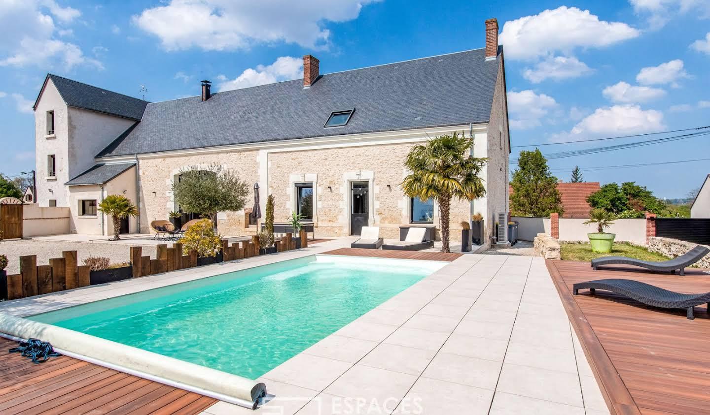 Maison avec piscine Montlouis-sur-Loire