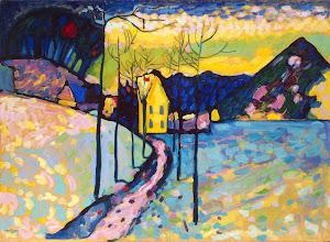 "Photo: Vasilij Kandinskij, ""Paesaggio invernale"" (1909)"