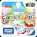 ファミリーアップス おしごとタウン!無料アプリでお仕事体験! icon