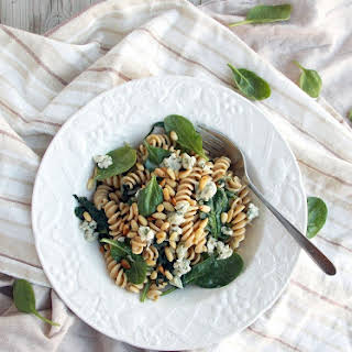 Spinach Blue Cheese Pasta.