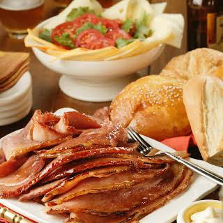 Sweet-Ale-Glazed Ham.
