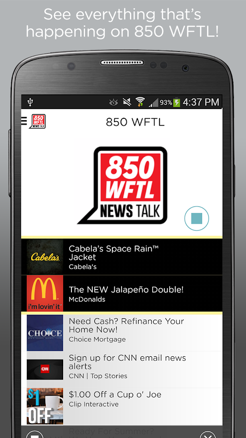 850 WFTL- screenshot