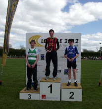 Photo: Daniel Ryan, Winner of Boys U/14 Shot Putt at Leevale Sports 2012