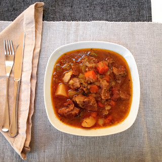 Healthy Irish Lamb Stew.