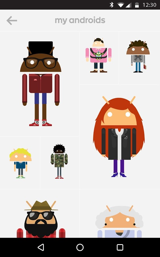 Androidify - screenshot