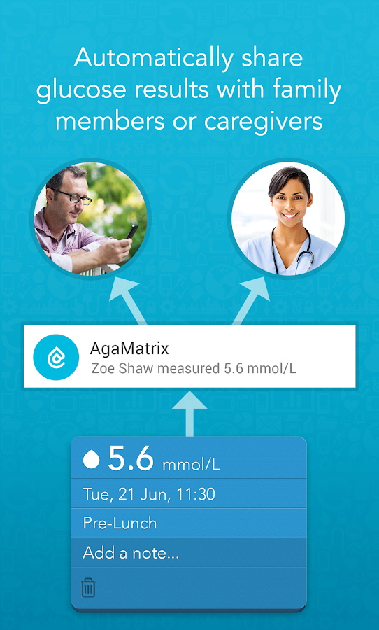AgaMatrix Diabetes Manager UK- screenshot