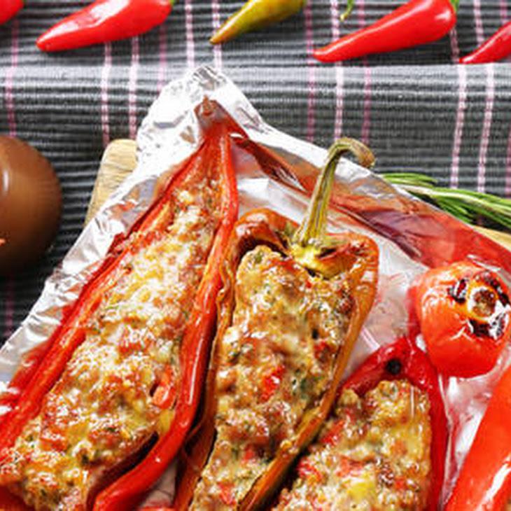 Stuffed Hot Peppers Recipe