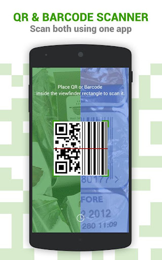 Dolphin QR Barcode Scanner