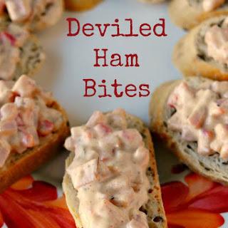 Deviled Ham Bites.