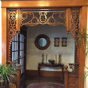 Ornate wood trim by Amber O'Hara - Buildings & Architecture Other Interior ( old is new again, wood wonders, latice works,  )