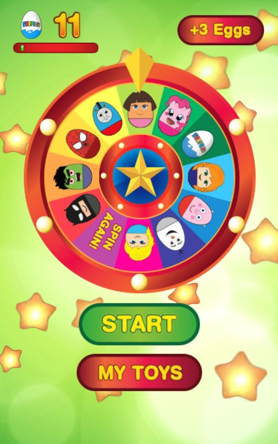 Wheel of Surprise Eggs 2- screenshot