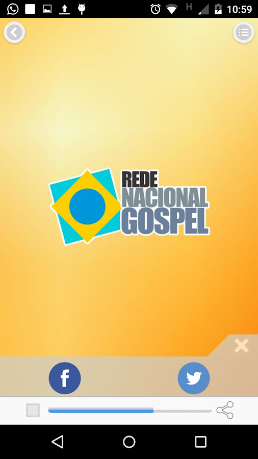 Nacional Gospel- screenshot