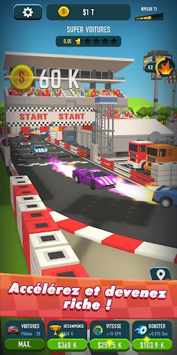 Code Triche Idle Race Rider u2014 Car tycoon simulator APK MOD screenshots 5