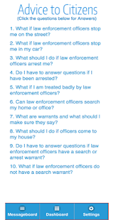 Five-O Police Rating App 1.3- screenshot thumbnail