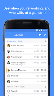 Yavi - Work Chat and Schedule- screenshot thumbnail