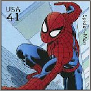 Comic Heroes on Stamps