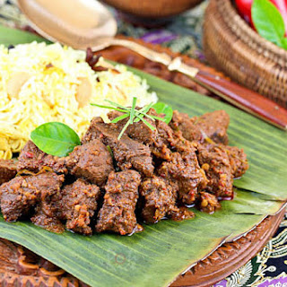 Beef Rendang.