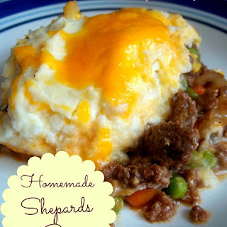 Homemade Shepards Pie