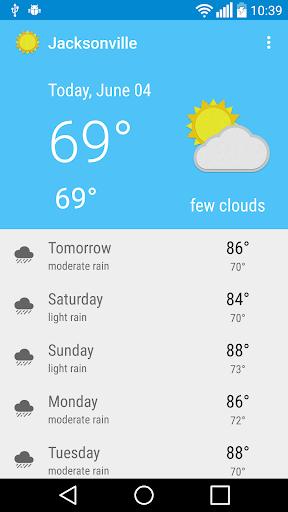 Jacksonville, FL - weather  screenshots 1