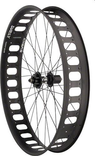 """Surly Fat Bike Rear Wheel 26"""" DT Swiss 340 Disc / Clown Shoe 28mm Offset"""