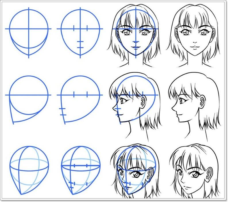 DIY Easy Anime Drawing Guide Screenshot