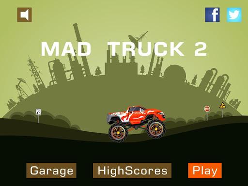 Mad Truck 2 -- physics monster truck hit zombie painmod.com screenshots 6