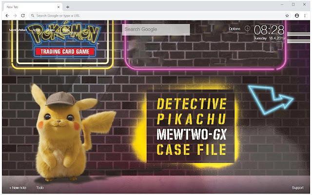 Pokemon Detective Pikachu Wallpapers New Tab