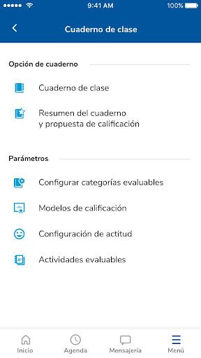 Versión de Séneca para smartphone y tabletas. screenshot 3