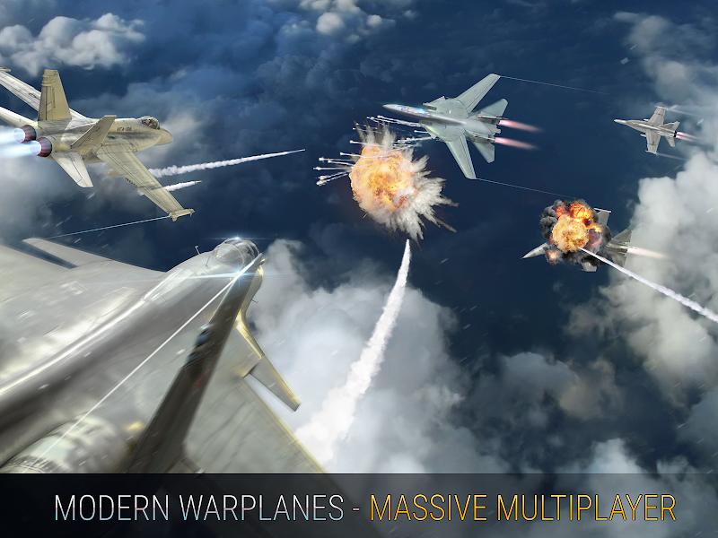 Modern Warplanes: Wargame Shooter PvP Jet Warfare Screenshot 12