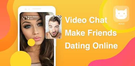 HOLLE is a wonderful live video chat app,chat and dating online with a stranger.