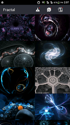 android Cool Fractal Wallpapers Screenshot 1