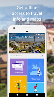Google Trips - Travel Planner Screenshot