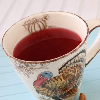 Warm Holiday Cranberry Punch