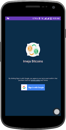 Imeja Bitcoins screenshot 1