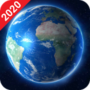 Live Earth Map 2020 - Satellite View, World Map 3D