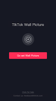 screenshot of TikTok Wall Picture