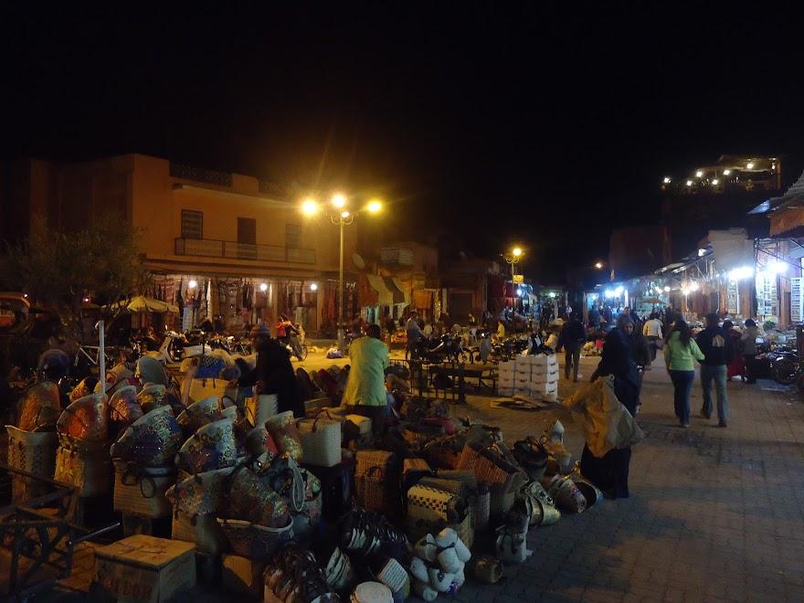 Ночной базар, Марракеш