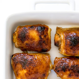 Baked Honey Mustard Chicken Thighs Recipe