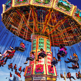 the fair by Asya Atanasova - People Family ( rides, kids, fun, swing, fair,  )