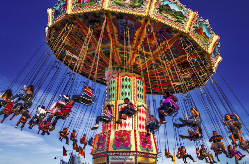the fair by Asya Atanasova - People Family ( rides, kids, fun, swing, fair,  )